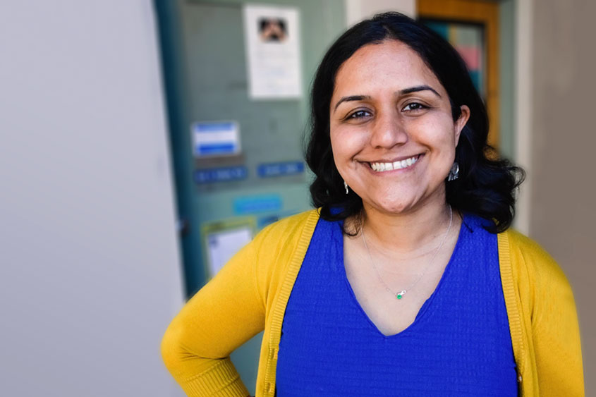 Saili Kulkarni, an assistant professor in the Department of Special Education in the Connie L. Lurie College of Education.