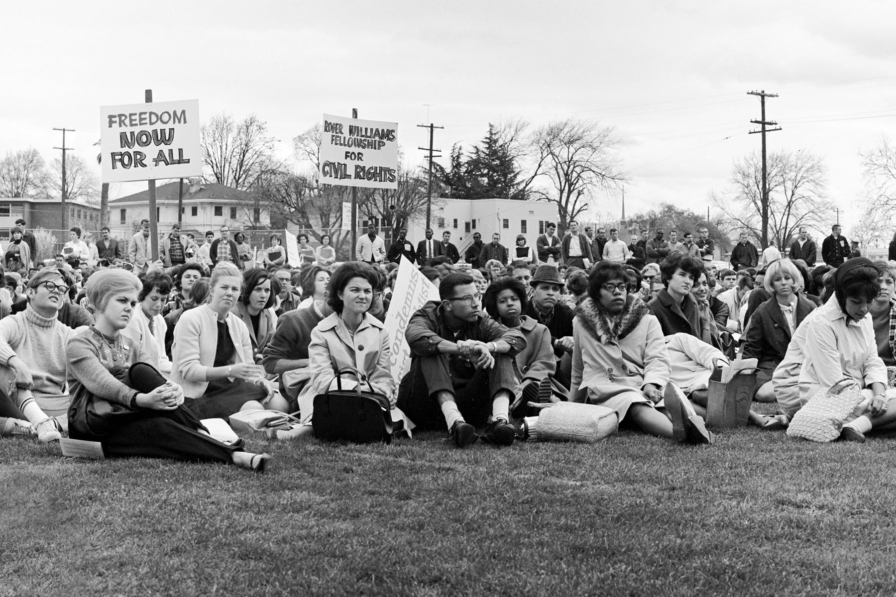 SJSU Students at the 1964 Freedom Protest.