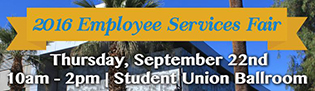 2016 Employee Services Fair