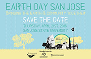 Earth Day San Jose Poster