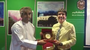 Dr Mourtos in Oman