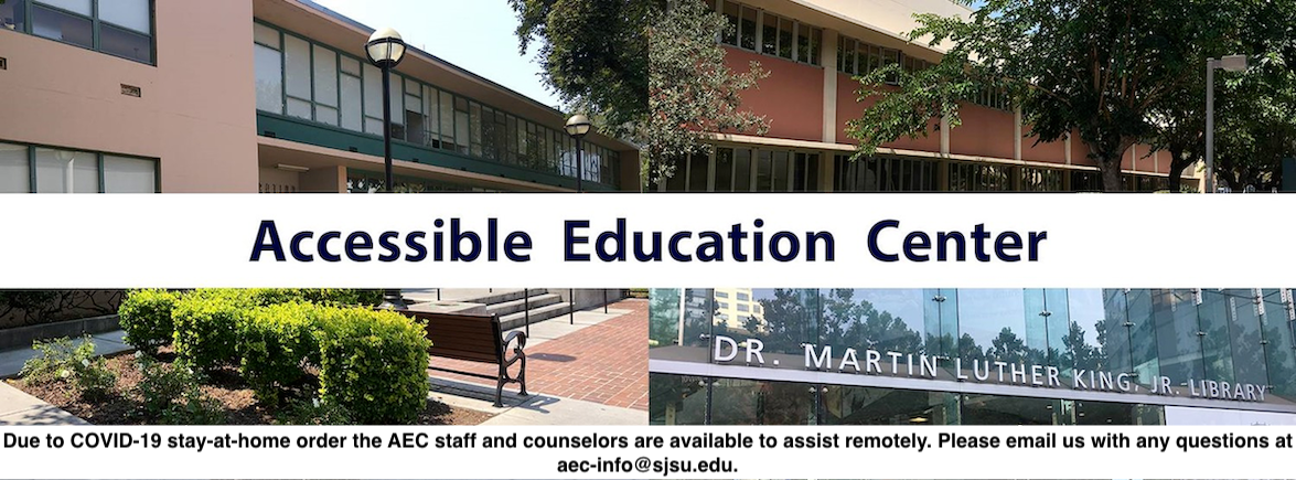 Due to COVID19 AEC staff and counselors are available to assist remotely Please email us with any questions.