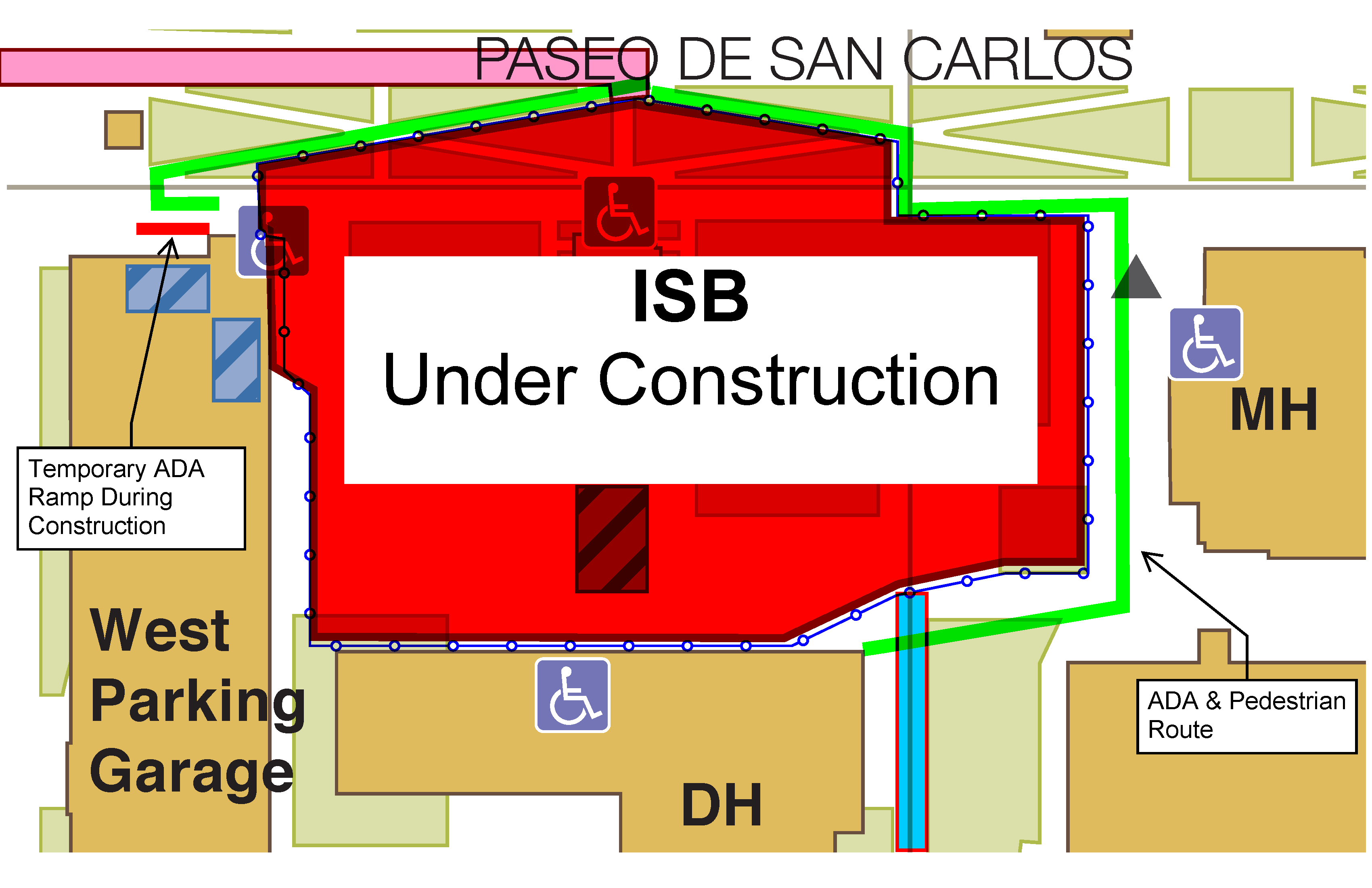 ISB Under Construction MAP-closer look