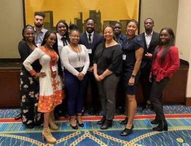 AFAM Students Visit the NCBS conference in Atlanta, Georgia
