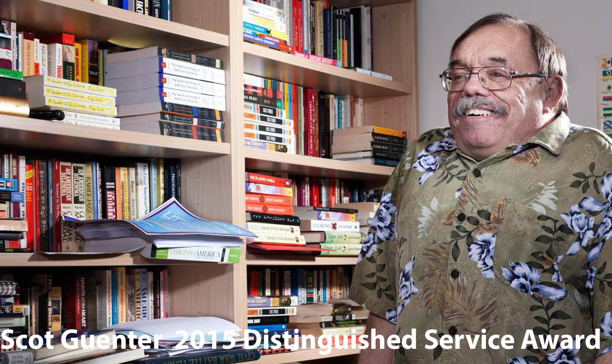 Guenter_Distinguish Service Award 2015