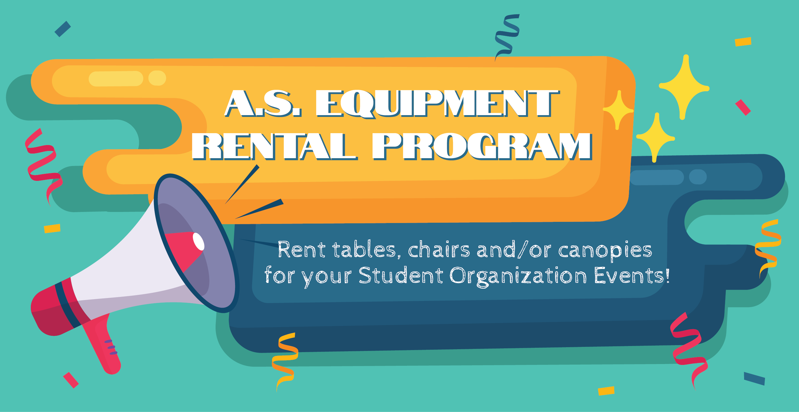 Equipment Rental Banner.