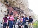 Hanging Temple, Shanxi Province, China with CSU students