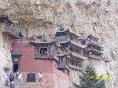 View of Hanging Temple, Shanxi Province, China