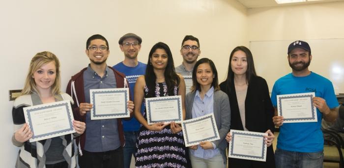 Spring 2017 Fellowship Award Winners