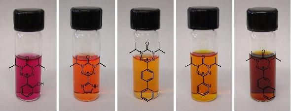 verdazyl vials