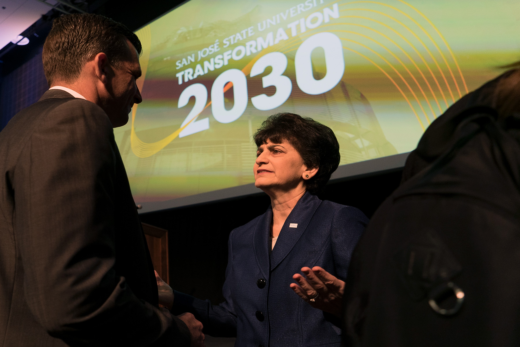 SJSU President at Transformation 2030 event