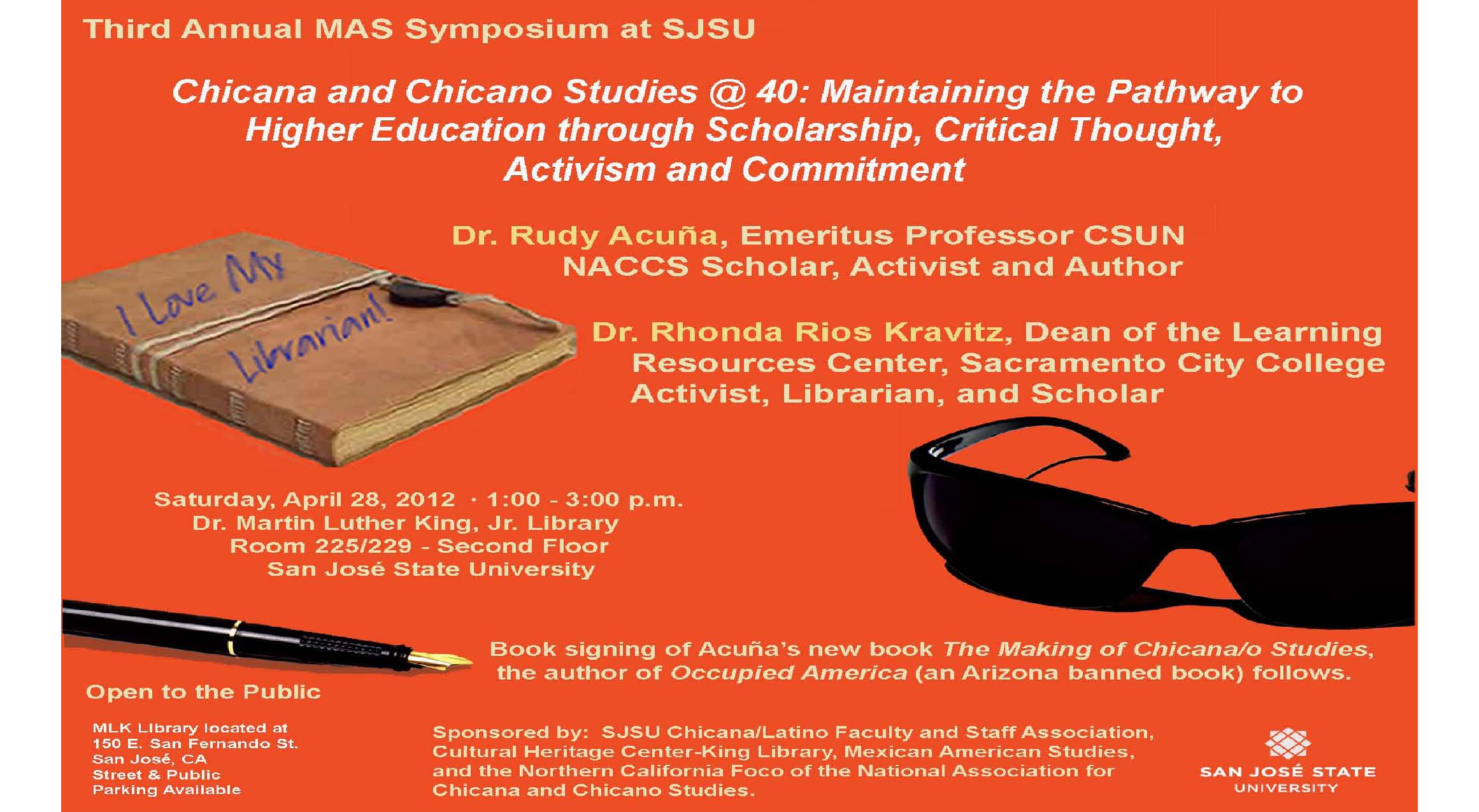 MAS Symposium flyer
