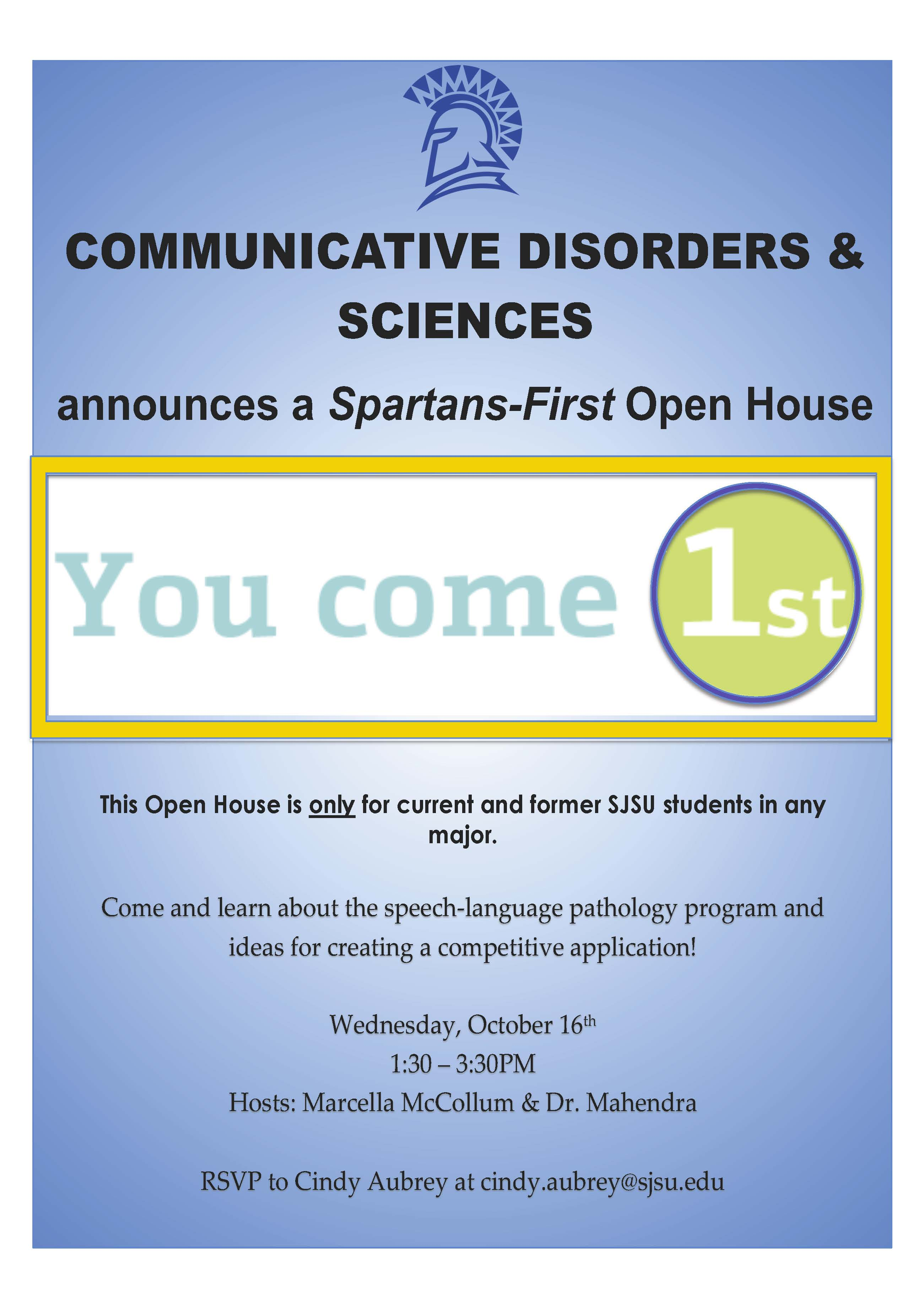 Spartan 1st open house