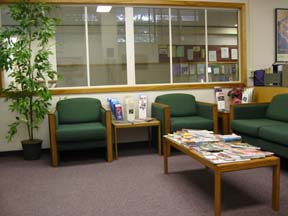 photo:speciality clinic waiting area