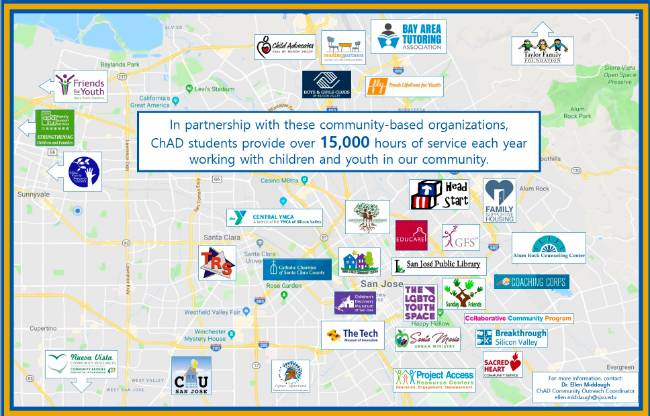 SJSU ChAD Service Learning Partners