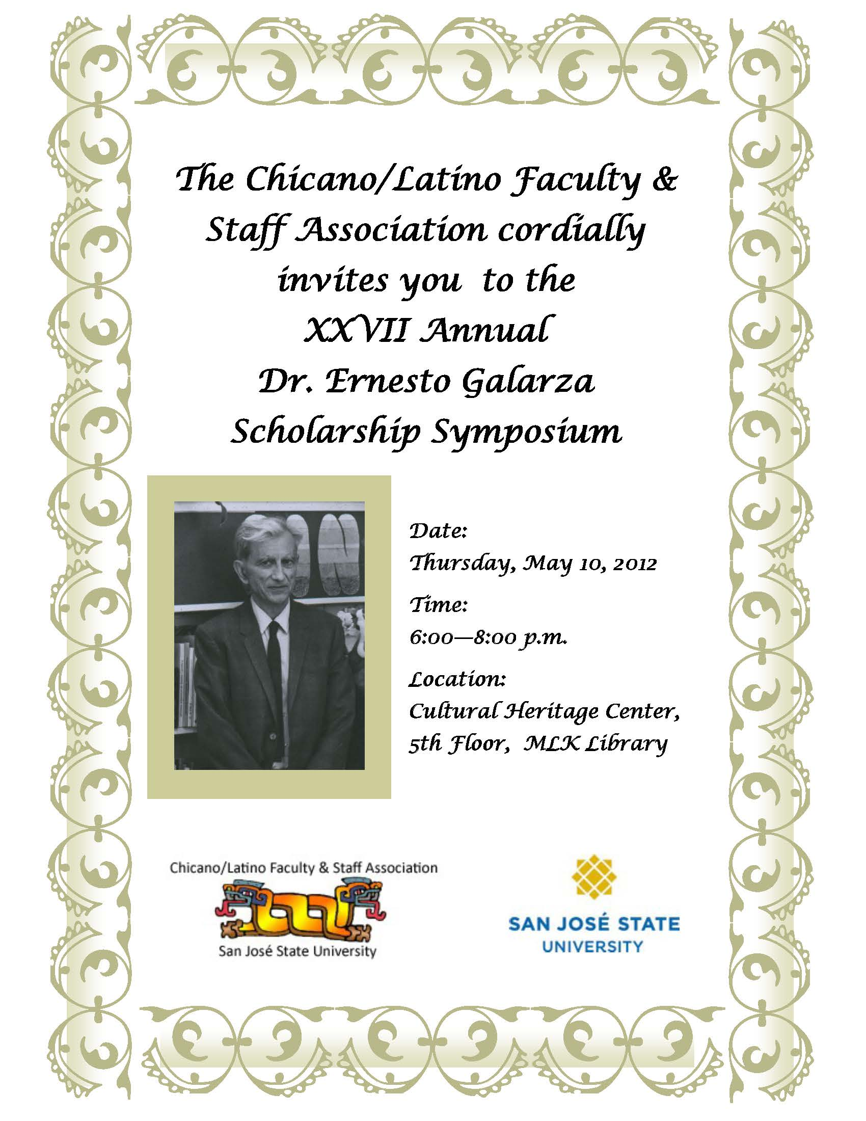 Galarza Symposium Flyer