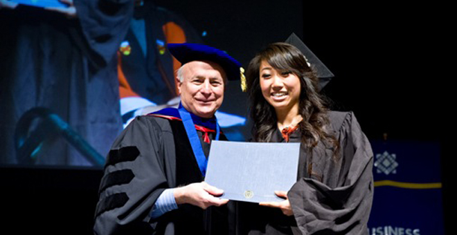 Thayer Merit Scholarship Recipient: Brenda Ong.