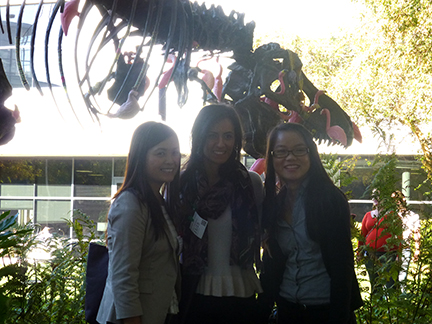 Students Visit Google Campus