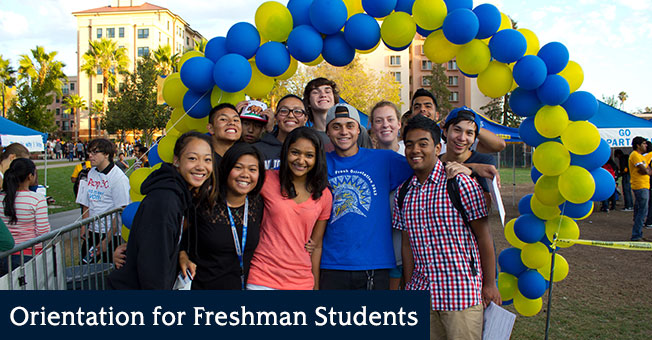 freshman students