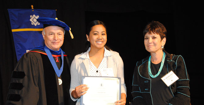 Leadership Impact Scholarship recipient: Anna Quezon