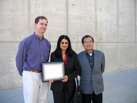 Prof. Joel West, Prof. Anu Basu, Prof. William Jiang