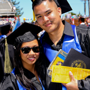 sjsu students at commencement