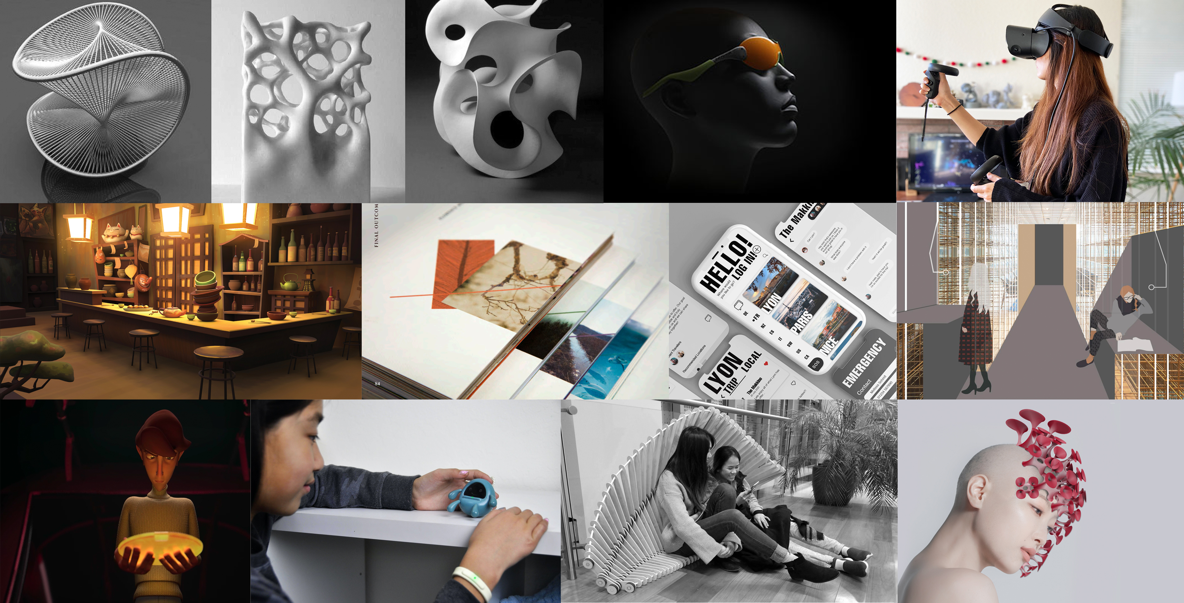 Collage of Design-related Pictures