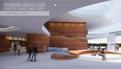 Paradise Healthcare Design Mock-Up