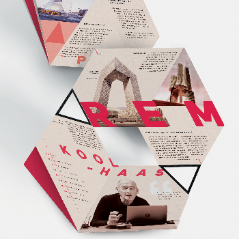 Koolhaas Fold-Up Poster