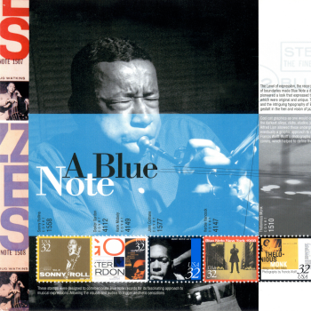 """A Blue Note"" Poster"