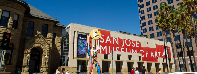 San José Museum of Art building.
