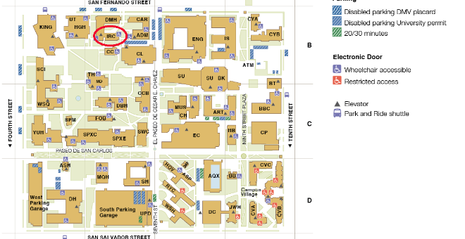 eCampus Map