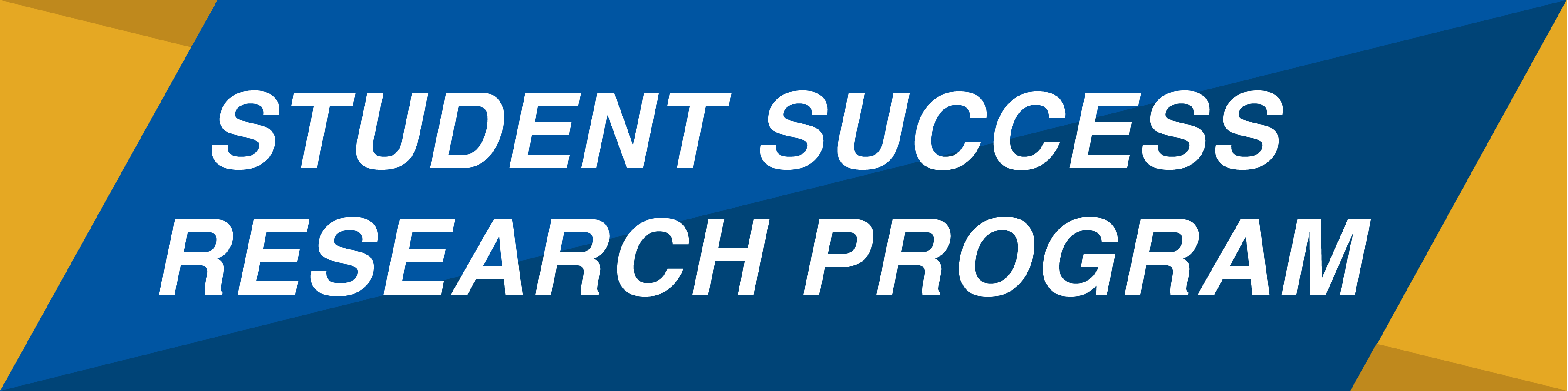 Student Success Research Program