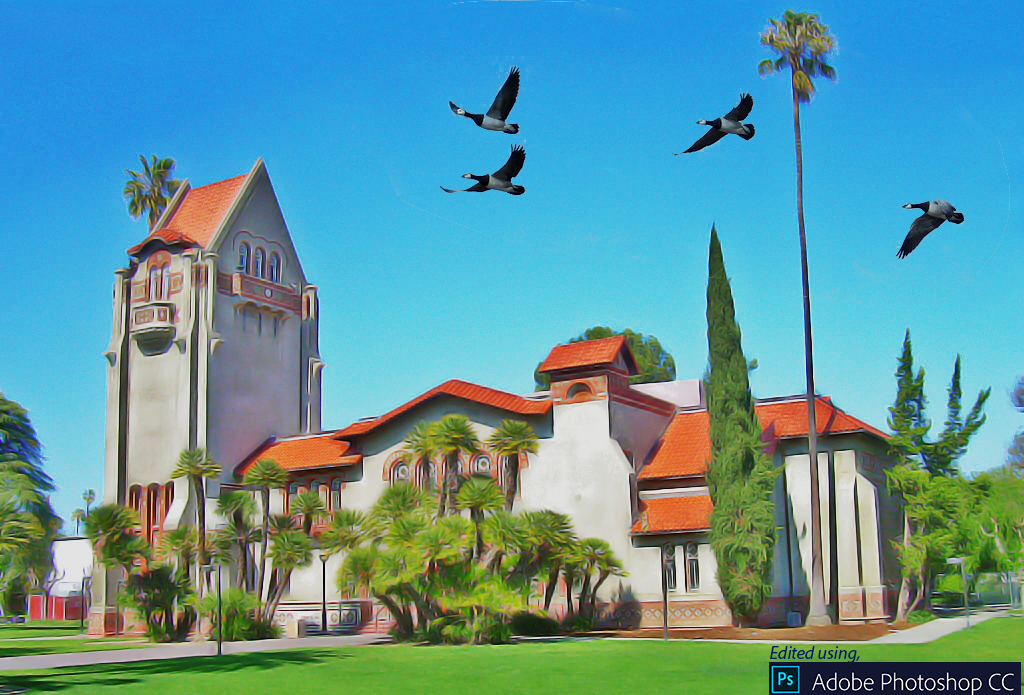 sjsu painting by ps