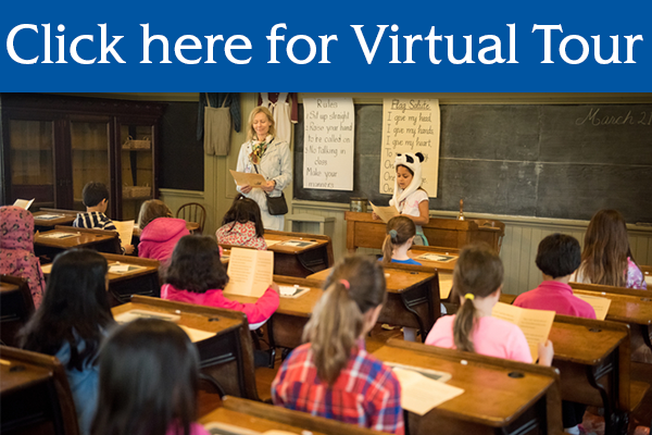 Click here for Virtual tour of One Room Schoolhouse