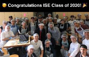Congratulations ISE class of 2020
