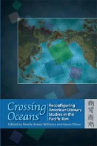 """Book Cover for Brada-William's """"Crossing Oceans""""."""