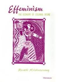 """Book cover of Krishnaswamy's """"Effeminism""""."""