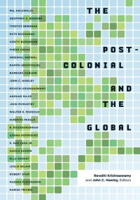 """Book cover of Krishnaswamy's """"The Postcolonial and Global""""."""