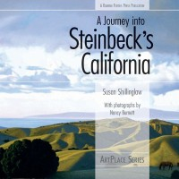 """Book cover of Shillinglaw's """"A Journey into Steinbeck's California""""."""