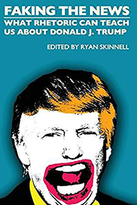 """Book cover of Skinnell's """"Faking the News""""."""