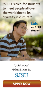 SJSU is nice for students to meet people all over the world due to its diversity in culture - by Luis, a SJSU student