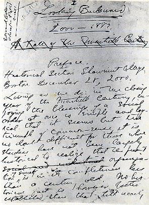 1888 1988 backward bellamy edward essay looking