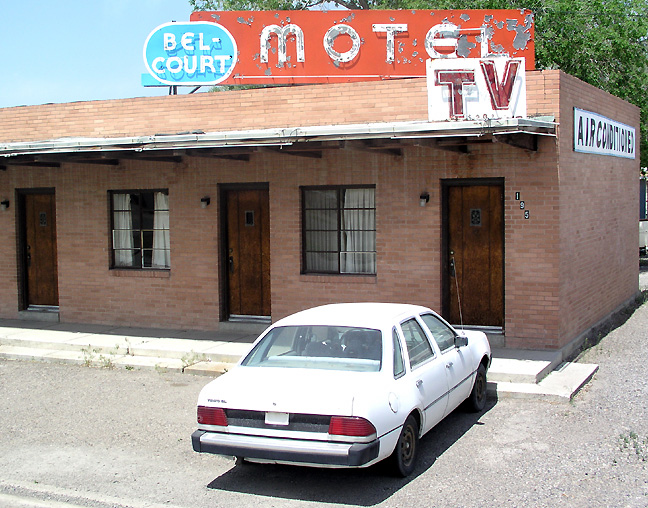 Las Vegas Nv Tod Motor Hotel Bell Court Motel Battle Mountain