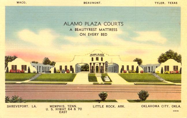 Alamo Plaza Hotel Courts Roadsidearchitecture Com