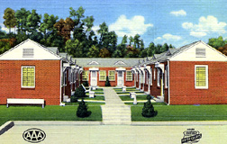 Motel Americana Motel Postcards