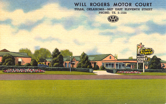 Motel Americana Postcards