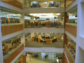 King Library Atrium