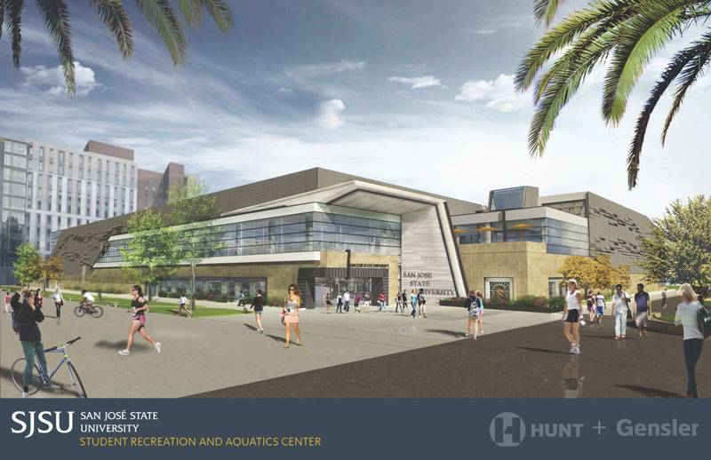 Planning design construction projects facilities - San jose state university swimming pool ...