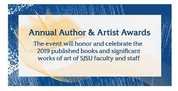 author artist award poster